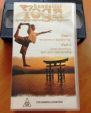 KUNDALINI YOGA - A COMPLETE COURSE FOR BEGINNERS VOL 1 - VHS