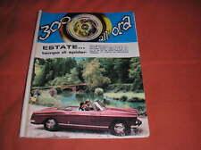 PEUGEOT 404 SPIDER PININFARINA SPIDER  300 ALL'ORA 1966