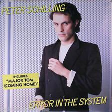 PETER SCHILLING 83 ERROR IN THE SYSTEM MAJOR TOM POSTER