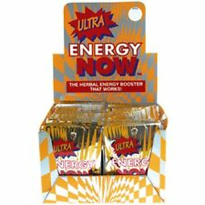 Ultra Energy Now, the Herbal Energy Booster that works, 24 packets x 3 tabs