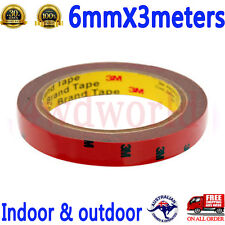 3M 6mmx3meters Double Sided adhesive Tape for Auto Car Truck Usage Dashboard