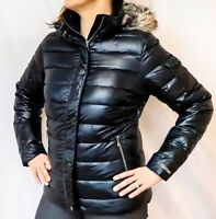 NEW MARMOT HAILEY DOWN JACKET Women's Black Puffer w/Removable Fur Hood M-L-XL