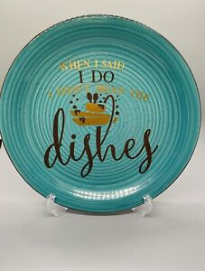 Funny Quote Wife Anniversary Couples Gift Decorative Display Ceramic Plate