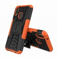 For Xiaomi Mi A2 /Mi 6X Hybrid Case 2 Pieces Outdoor Orange Case Cover