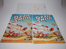 (2) Ozzie Smith DC Comics Sports Illustrated 1992 w/ Original Shipping Package