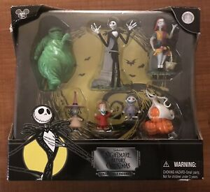 Disney Store Nightmare Before Christmas Exclusive Collectible Figure Set