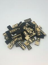 Rare Antique Civil War Relic Domino Game Piece with Certificate of Authenticity