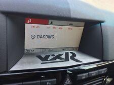 Opel Astra H écran panneau Vauxhall VXR Lettrage Navi Navigation CID z085