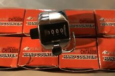 (8)- 4 Digit Counting Manual Hand Tally Number Counter Mechanical Click Clicker