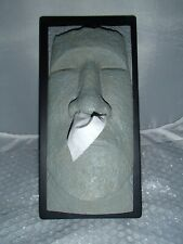Rudy The Tiki Head Tissue Box Holder Cover Tissue Dispenser Easter Island