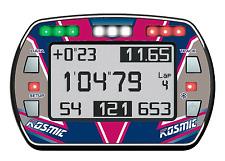 Kosmic Style Gel Autocollant Pour Alfano PRO III EVO lap timer-Karting