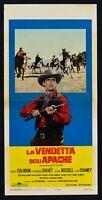 Plakat Die Rache Der Apachen Calhoun Calvet Russel Chaney Western N11