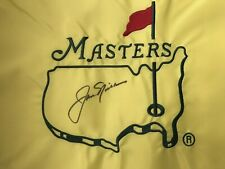 New listing JACK NICKLAUS - GOLF - ORIGINAL SIGNED UNDATED MASTERS FLAG - WITH NICKLAUS COA