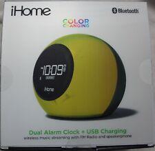 iHome Ibt29 Dual Alarm Clock Radio - Color Changing