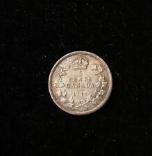 1911 Canada 5 Cents silver  KM #16