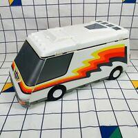 Vintage Micro Machines Galoob Super Van City Playset 1991 Retro Portable 90s