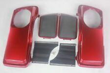 Ember red sunglo color Saddlebag 6*9 Speaker Lids for Harley hard bags 1993-2013