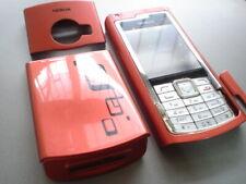 New Nokia  N72 cover  keypad fascia set red colour