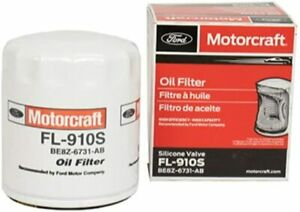 Motorcraft Car Ford FL-910S Oil Filter Perforated Steel Center Tube