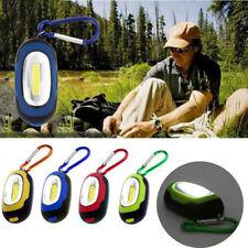 Mini COB LED Flashlight Waterproof Portable Keychain Torch Light Camping Lamp