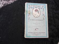 BIBLIOTHEQUE DE SUZETTE LE REGNE DE CENDRILLON  par MYRIAM CATALANY 1924