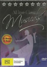 All Time Classic Musicals 10 DVDs Royal Wedding Star Is Born Clouds Roll by