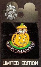 RARE 2004 WALT DISNEY WORLD HAPPY HALLOWEEN CHIP & DALE SLIDER PIN LE 2500