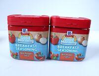 Lot 2 New Unused McCormick Good Morning Breakfast Spice - Bell Pepper Salsa