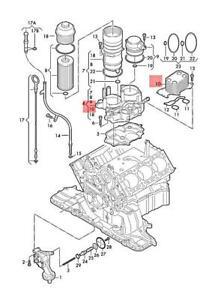Genuine AUDI VW A4 allroad quattro Avant S4 Oil Cooler 059117021K