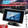 4 In1 LCD Car Digital Alarm Gauge Voltmeter Oil Pressure Fuel Water Temp Gauge