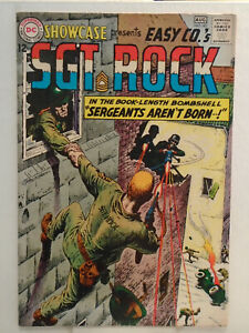 DC Comics SHOWCASE #45 (1963) Origin of Sgt. Rock Retold HIGH GRADE