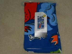 NEW, Dinosaur Beach Towel Measures 28 x 60 Inches