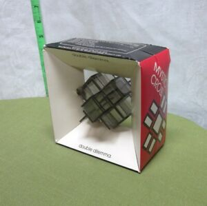 MYSTIC CROSS Double Dilemma brain-teaser 3D puzzle 1973 Mind Bender toy