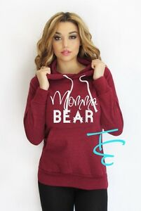 Momma Bear Light Weight hoodie. Made by ThinkElite Domestic Free shipping