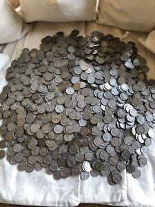 (20) Buffalo Nickels Half Rolls Nickels 1913-1938 US Coins Mint Indian Head 5C