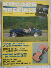 Kitcars & Specials Feb 1986 Atlantis, Raffo
