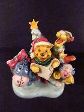 Harmony Kingdom Disney 2005 Pooh And Friends Caroling Ltd 350 Pcs