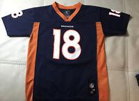 Vintage NFL Apparel On Field Peyton Manning Denver Broncos Jersey Youth Medium
