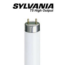 x 2 Sylvania 549mm HO 24w T5 Fluorescent Tube - 840 / Cool White