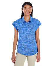 Holloway Ladies Electrify 2.0 Polo Shirt Large L Royal Heather