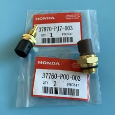 2Pcs Coolant Fan Switch & Coolant Temperature Sensor 37760-P00-003 37870-PJ7-003
