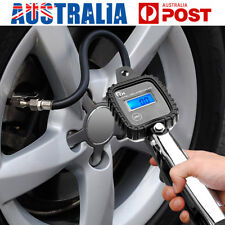 Digital Tyre Pressure Gauge Portable Car Tire Inflator Air Compressor Pump LCD