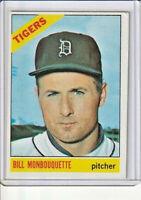 Bill Monbouquette 1966 Topps Baseball Card #429 (E)