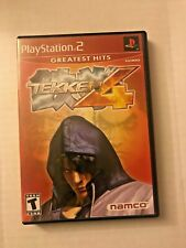 Tekken 4 - Greatest Hits (Sony Playstation 2, 2001) PS2 Complete Tested