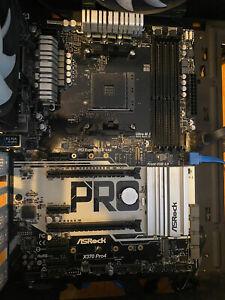 Asrock X370 Pro4 - Worked Great With Ryzen Gen 1.