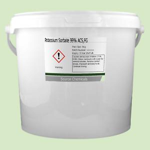 Potassium Sorbate 99% ACS Food Grade 5Kg