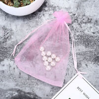 "Organza Jewerly Wedding Party Christmas Favor Gift Bags 100Pcs 4 Size 4x6"" 6x9"""