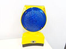 UEC TL2000SPL Blue Xenon Solar Powered Roadside Hazard Warning Lamp Beacon