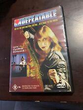 Undefeatable DVD Region 4 Rare Cynthia Rothrock