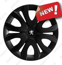 "4x15"" Wheel trims covers fit Peugeot Partner VAN 15"" full set black"